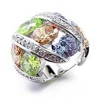 multi color CZ plated $85