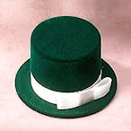 Top Hat, pink, green,grey,red,burgundy,black,navy