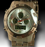 Coleman mens Analog digital stainless steel water resistant $50