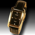 Gruens Embassy 4 Diamond Leather band $40