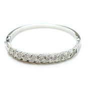 10mm clasp bangle designer style with crystals