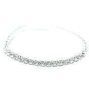 Fashion of the Austrian crystal and rhinestone bangles are designed after this piece, stretch