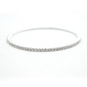 This elegant single Austrian crystal bangle is being sold for over $80 it's your from Darenot for only $23