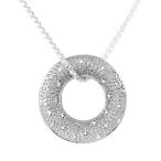 Keeping it simple and oh so pretty with this nice solid Sterling Silver 17.5 inch necklace