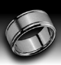 Titanium  rings with style