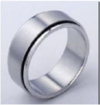 Very fine and simple ring made of the finest Titanium almost all sizes available