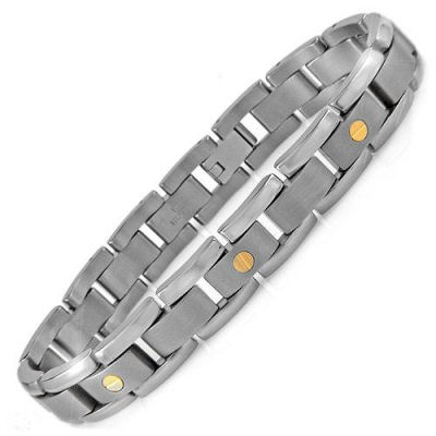 What a magnificent original look with this Titanium Bracelet 8.25in, fashion comes with Titanium